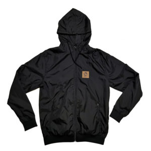 Windbreaker jacket athom, face view